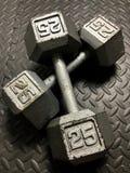 Vrije Gewichten stock fotografie