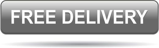 Vrije grijze levering butoon stock illustratie