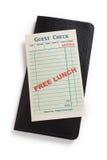 Vrije Lunch royalty-vrije stock foto's