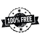 vrije 100% stampen Stock Afbeeldingen