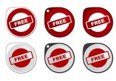 Vrije Sticker Royalty-vrije Stock Foto's