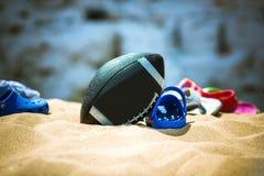 Vrije tijd op het strand Royalty-vrije Stock Foto
