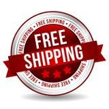 Vrije verschepende Knoop - Online Kenteken Marketing Banner met Lint Stock Afbeeldingen