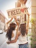 Vrijheid! Stock Foto