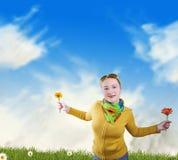 vrijheid en geluk stock afbeelding
