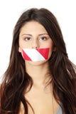 Vrijheid van toespraak stock foto's