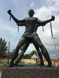 Vrijheid voor badagry, Lagos, Nigeria stock foto