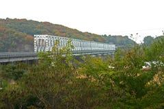 Vrijheidsbrug, DMZ, Zuid-Korea Stock Afbeelding