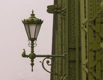 Vrijheidsbrug over de Donau, Boedapest, Hongarije Royalty-vrije Stock Foto