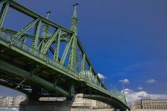Vrijheidsbrug van bodem, Boedapest stock foto's