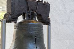 Vrijheidsklok in Philadelphia (de V.S.) royalty-vrije stock afbeelding