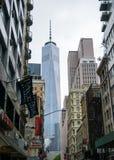 Vrijheidstoren in New York Stock Afbeelding