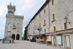 Vrijheidsvierkant in San Marino Royalty-vrije Stock Afbeelding