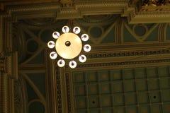 Vrijmetselaars- tempellamp Royalty-vrije Stock Foto's