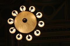 Vrijmetselaars- tempellamp Stock Foto