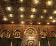 Vrijmetselaars- tempelzaal Stock Foto