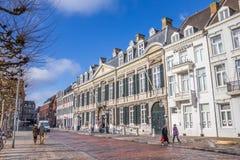 Vrijthof广场的剧院在马斯特里赫特 免版税库存图片