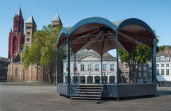 Vrijthof Maastricht Royalty Free Stock Images