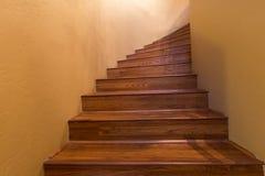 Vrillage de l'escalier Photographie stock libre de droits
