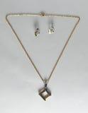 Vrilles de collier d'Earings Photos libres de droits