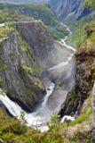 Voringsfossen Waterfall Stock Photos