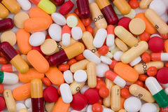 Vários comprimidos Imagem de Stock