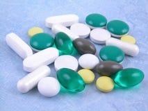 Vários comprimidos Fotografia de Stock Royalty Free