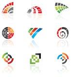 Vários logotipos Imagem de Stock Royalty Free