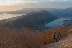 Vrmac Mountain. Montenegro Stock Image