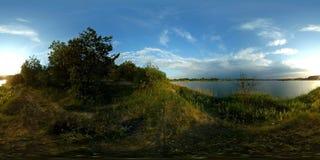 360 vrmeer panoramische 4k stock videobeelden