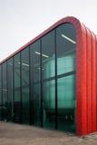 Värmeöverföringsstation i Almere, Nederländerna Arkivfoto