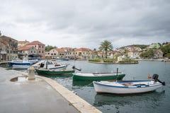 Vrobska on Hvar island, Croatia Stock Images