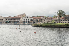 Vrobska on Hvar island, Croatia Royalty Free Stock Photos