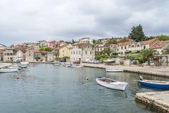 Vrobska on Hvar island, Croatia Stock Photo