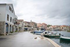 Vrobska on Hvar island, Croatia Royalty Free Stock Images