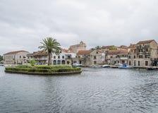 Vrobska on Hvar island, Croatia Stock Photography