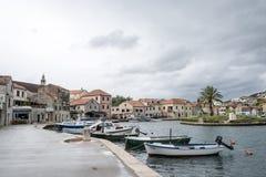 Vrobska on Hvar island, Croatia Royalty Free Stock Photo