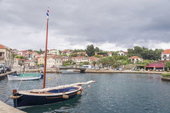 Vrobska on Hvar island, Croatia Stock Image
