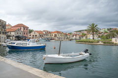 Vrobska on Hvar island, Croatia Royalty Free Stock Photography