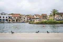 Vrobska on Hvar island, Croatia Stock Photos