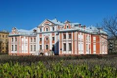 Vroeg barok in St. Petersburg royalty-vrije stock afbeelding