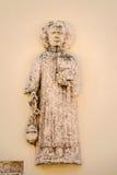 Vroeg Christelijk artefact in centrum van historische stad Nin, Kroatië Royalty-vrije Stock Fotografie