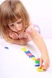 Vroege kinderjarenontwikkeling Stock Afbeelding