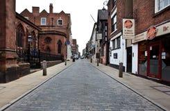 Vroege ochtend in Chester, het UK Stock Foto's