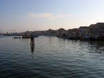 Vroege ochtend in de Golf van Venetië royalty-vrije stock fotografie