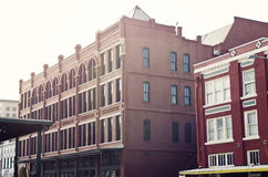 Vroege Ochtend in Gaveston Van de binnenstad, Texas Royalty-vrije Stock Foto