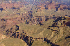 Vroege ochtend, in Grand Canyon Royalty-vrije Stock Afbeelding