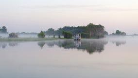 Vroege ochtend op de Gele Rivier, Australië Royalty-vrije Stock Foto's