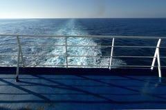 Vroege ochtend in open zee Stock Fotografie