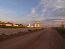 Vroege ochtend in West-Texas. Royalty-vrije Stock Fotografie